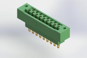 415-017-500-122 - Card Edge | Metal to Metal 2 Piece Connectors