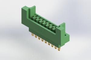 415-017-500-222 - Card Edge   Metal to Metal 2 Piece Connectors
