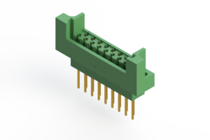 415-017-540-222 - Card Edge   Metal to Metal 2 Piece Connectors