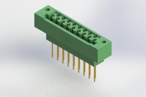 415-017-541-122 - Card Edge | Metal to Metal 2 Piece Connectors