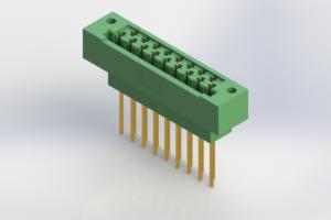415-017-542-122 - Card Edge | Metal to Metal 2 Piece Connectors
