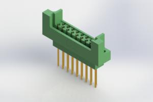 415-017-542-222 - Card Edge   Metal to Metal 2 Piece Connectors