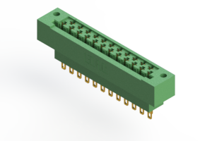 415-023-500-112 - Card Edge | Metal to Metal 2 Piece Connectors
