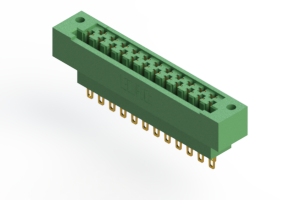 415-023-500-122 - Card Edge   Metal to Metal 2 Piece Connectors