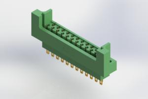 415-023-500-212 - Card Edge | Metal to Metal 2 Piece Connectors