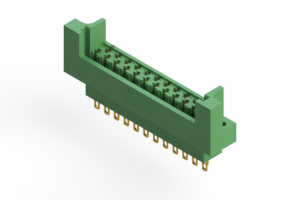 415-023-500-222 - Card Edge   Metal to Metal 2 Piece Connectors