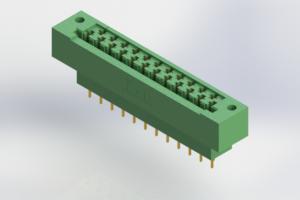 415-023-520-112 - Card Edge | Metal to Metal 2 Piece Connectors