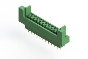 415-023-520-222 - Card Edge   Metal to Metal 2 Piece Connectors