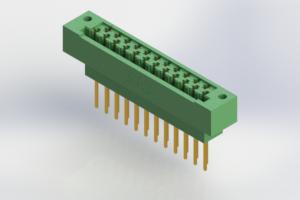 415-023-540-122 - Card Edge | Metal to Metal 2 Piece Connectors