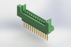 415-023-540-212 - Card Edge   Metal to Metal 2 Piece Connectors