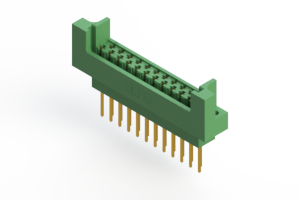 415-023-540-222 - Card Edge   Metal to Metal 2 Piece Connectors