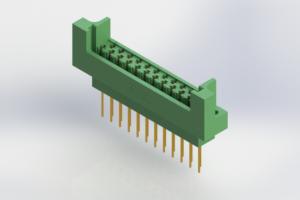 415-023-541-222 - Card Edge   Metal to Metal 2 Piece Connectors