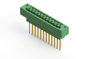 415-023-542-122 - Card Edge   Metal to Metal 2 Piece Connectors
