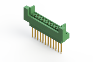 415-023-542-212 - Card Edge   Metal to Metal 2 Piece Connectors