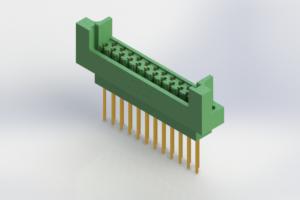 415-023-542-222 - Card Edge   Metal to Metal 2 Piece Connectors