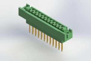 438-023-540-122 - Card Edge | Metal to Metal 2 Piece Connectors