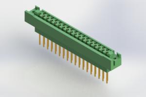 438-035-540-122 - Card Edge | Metal to Metal 2 Piece Connectors