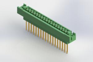 438-035-542-122 - Card Edge | Metal to Metal 2 Piece Connectors