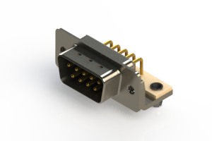 621-M09-260-BN3 - Right Angle D-Sub Connector