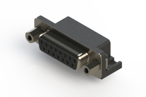 622-015-260-003 - EDAC   Standard Right Angle D-Sub Connector