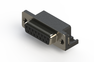 622-015-260-006 - EDAC   Standard Right Angle D-Sub Connector