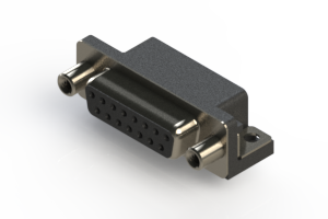 622-015-260-010 - EDAC   Standard Right Angle D-Sub Connector