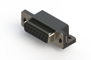 622-015-260-015 - EDAC   Standard Right Angle D-Sub Connector