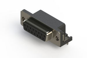 622-015-260-031 - EDAC   Standard Right Angle D-Sub Connector