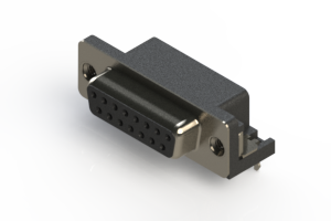 622-015-260-035 - EDAC   Standard Right Angle D-Sub Connector