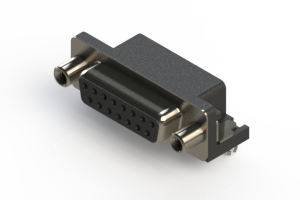 622-015-260-040 - EDAC   Standard Right Angle D-Sub Connector