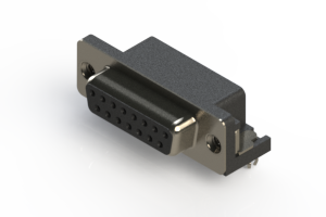 622-015-260-042 - EDAC   Standard Right Angle D-Sub Connector