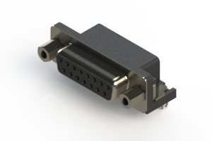 622-015-260-043 - EDAC   Standard Right Angle D-Sub Connector