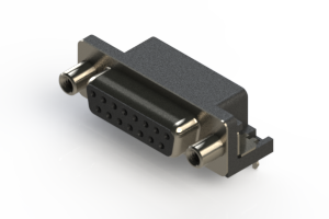 622-015-260-530 - EDAC   Standard Right Angle D-Sub Connector