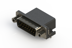 625-015-262-033 - Right Angle D-Sub Connector