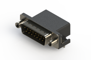 625-015-362-030 - Right Angle D-Sub Connector