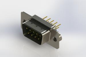 627-M09-320-GN2 - Vertical D-Sub Connector