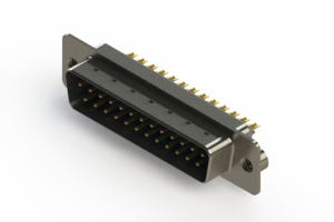 627-M25-622-LT2 - Vertical D-Sub Connector