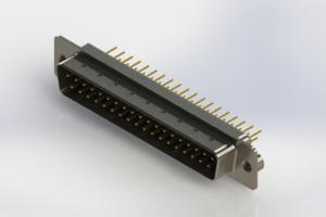 627-M37-220-BN2 - Vertical D-Sub Connector