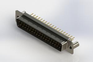 627-M37-220-BN3 - Vertical D-Sub Connector
