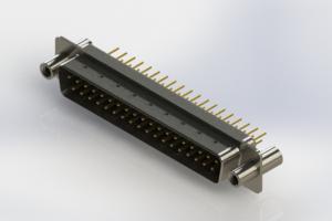 627-M37-220-BN4 - Vertical D-Sub Connector