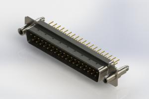 627-M37-220-BN6 - Vertical D-Sub Connector