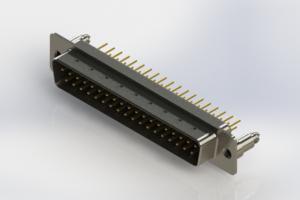 627-M37-220-BT5 - Vertical D-Sub Connector