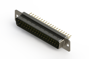 627-M37-220-GT1 - Vertical D-Sub Connector