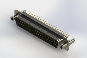 627-M37-220-GT6 - Vertical D-Sub Connector