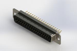 627-M37-220-LN1 - Vertical D-Sub Connector