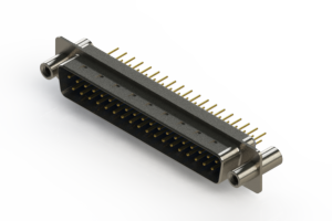 627-M37-220-LN4 - Vertical D-Sub Connector