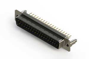 627-M37-220-LN5 - Vertical D-Sub Connector