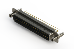627-M37-220-LN6 - Vertical D-Sub Connector