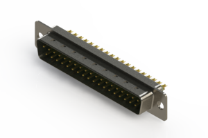 627-M37-222-GN1 - Vertical D-Sub Connector