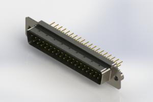 627-M37-320-GN2 - Vertical D-Sub Connector